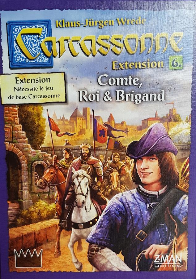 Extension N6 Carcassonne : Conte, roi et brigand (1)